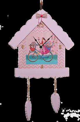 Ρολόι Σπίτι Κουκουνάρια