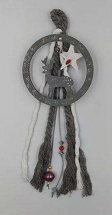 Κύκλος Ελαφάκι με αστέρι γκρι