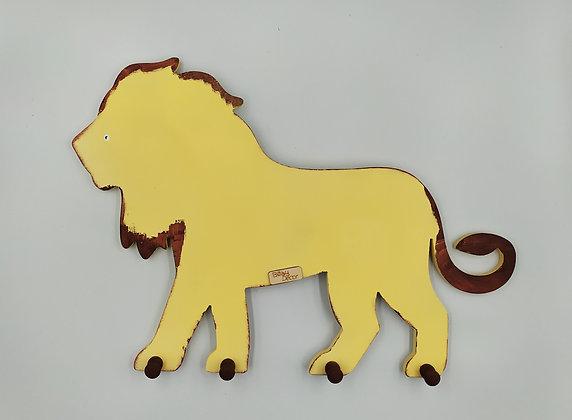 Κρεμάστρα Λιοντάρι σε χρυσαφί απόχρωση