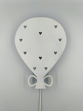 Φωτιστικό Μπαλόνι Λευκό