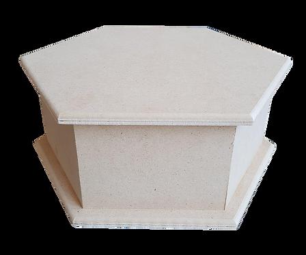 Εξάγωνο MDF κουτί 100-118