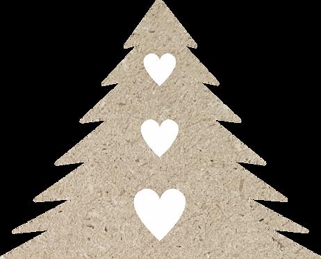 Δέντρο με καρδιές 700-135
