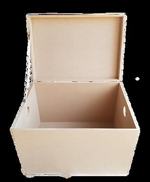 Μπαούλο απλό με τρύπες-χερούλια 000-107