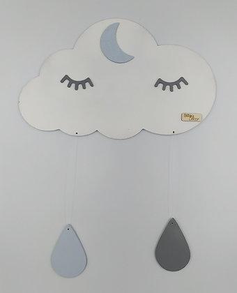 Συννεφάκι Λευκό για τον τοίχο