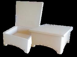 Κουτί MDF ποδαράκι