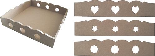 Δίσκος τετράγωνος με σχεδιάκια 100-114