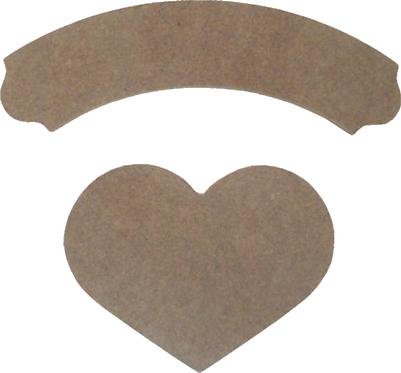 Κορδέλα με καρδιά 300-107