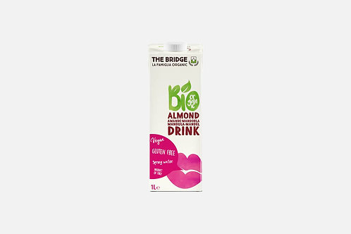 Бадемова напитка подсладена с тръстикова захар, The Bridge, 1 л