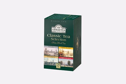 Черен Английски чай - Класическа селекция, Ahmad Tea, 20 фолирани пакетчета