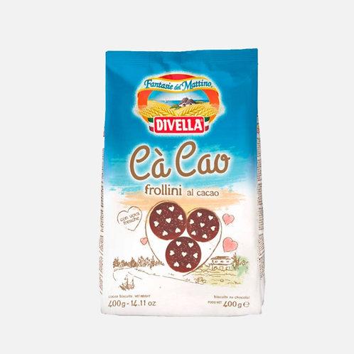 Италиански бисквитки с какао, Divella, 400 гр.