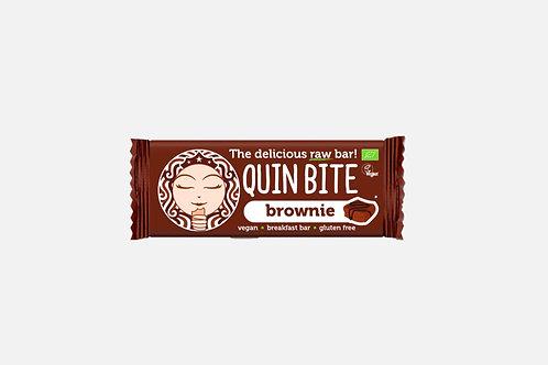 """Сурово БИО барче """"Брауни"""" Quin Bite 30 гр. х 12"""