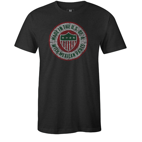 USA with Mexican Parts Unisex Tee
