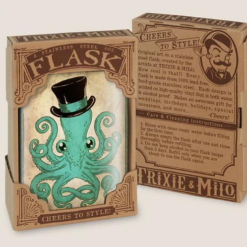 Gentleman Octopus - Flask