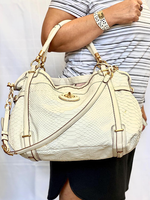 COACH Snakeskin handbag- Final Sale