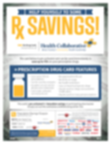Health Collaborative - Rx Savings Flyer.