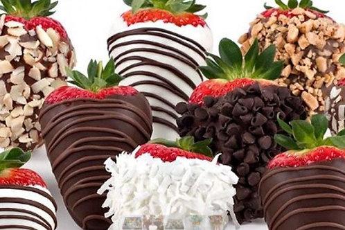 Fresas con Chocolate(unidades)