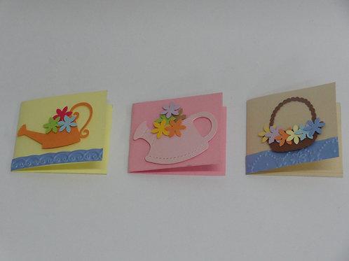 Mini tarjeta artesanal - Varios