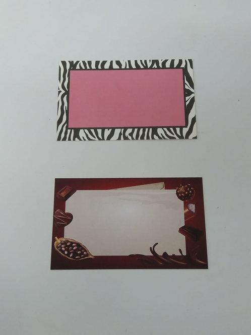Mini tarjeta impresa / Genérica