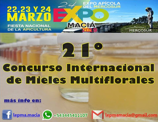21º Concurso Internacional de Mieles Multiflorales