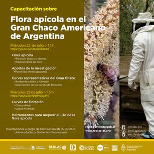 Capacitación sobre Flora apícola en el Gran Chaco Americano de Argentina