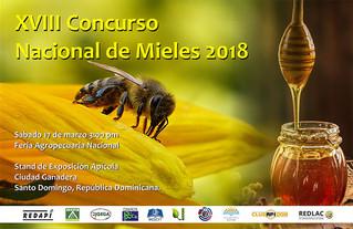 XVIII Concurso Nacional de Mieles 2018 - Rep. Dominicana