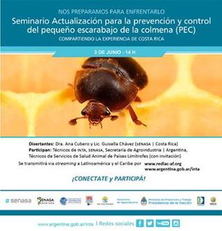 Seminario de Actualización en la prevención y control del PEC: Experiencia de Costa Rica