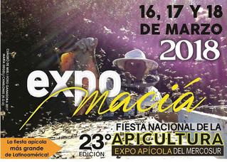 Expoapícola Maciá 16 al 18 de Marzo de 2018