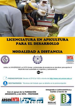 Licenciatura en Apicultura para el Desarrollo