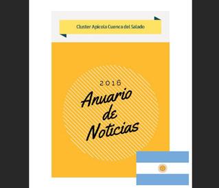 Resumen de noticias 2016 del Cluster Apícola de la Cuenca del Salado