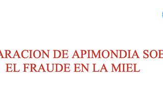 Declaración de APIMONDIA sobre el fraude de la miel