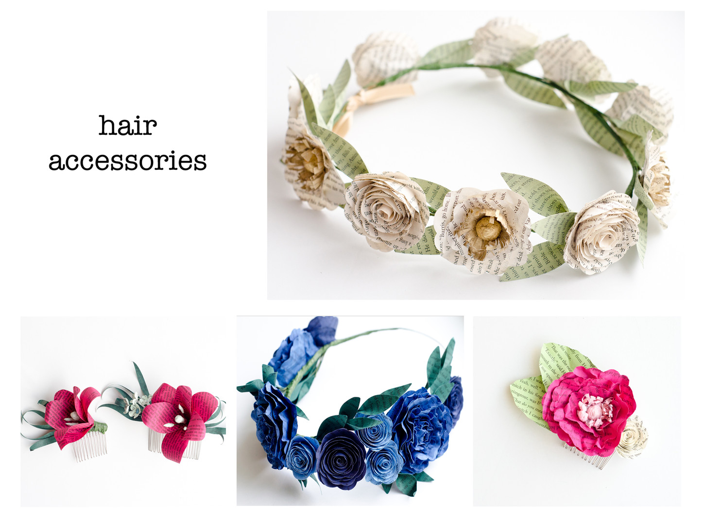 Custom Hair Accessories