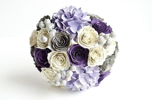 Hydrangea Bridesmaid Bouquet with Customization