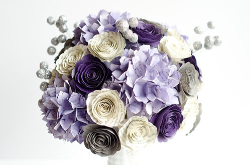 Hydrangea Bridal Bouquet with Customization