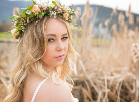 Summer Floral Crown Photo Shoot