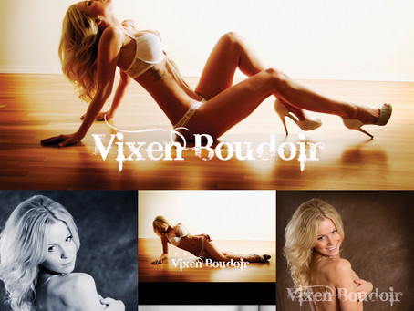 Kayla's Boudoir Session with Vixen