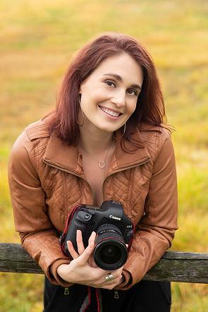 Portrait of photographer & owner of Vixen Photo Stusio