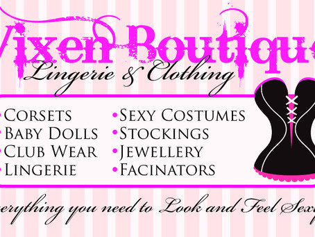 The Vixen Boutique; Launches this Month!!!