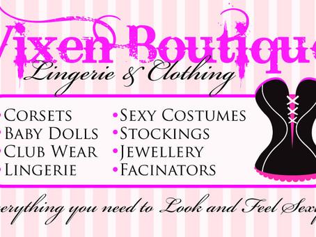 The Vixen Boutique; Launches this Month!!!