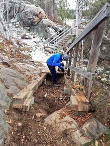 dismanteling chickadee stairs.jpg