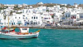 em Mykonos - Grécia