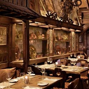 """em Amsterdam - Restaurante """"D'VIJFF VLIEGHEN"""""""