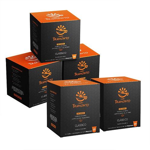 Pack com 50 capsulas Café Tramonto