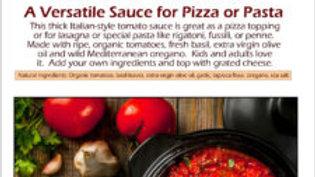 Organic Pizza Pasta Sauce