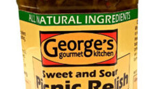 Picnic Relish - Sweet and Sour