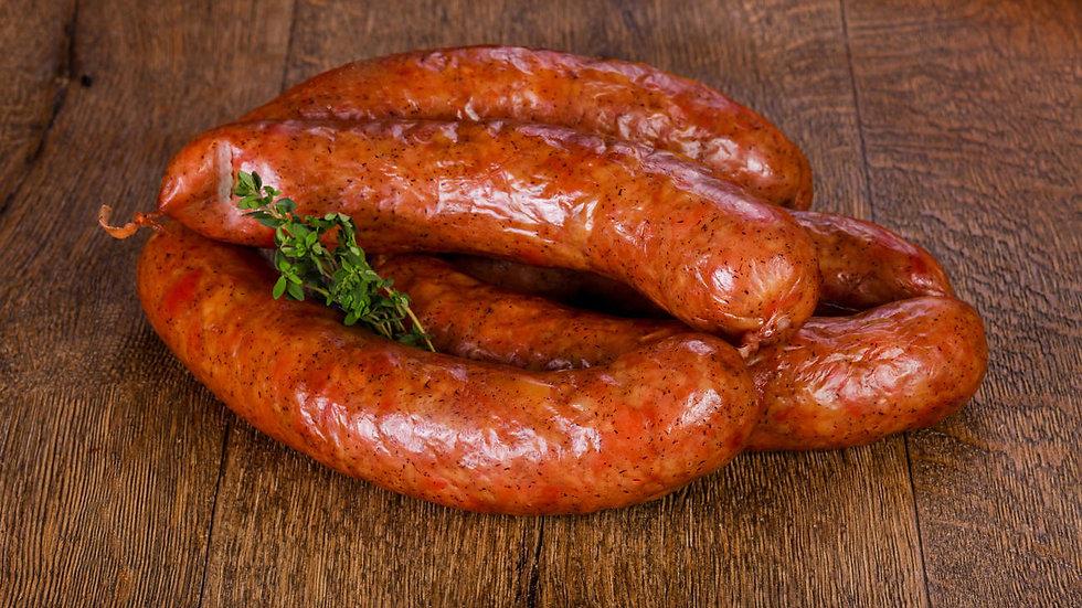 Spicy Goan style sausage