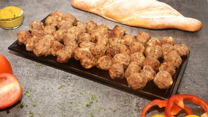 Pork Peppery meatballs