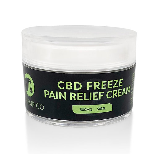 CBD Freeze Pain Relief Cream