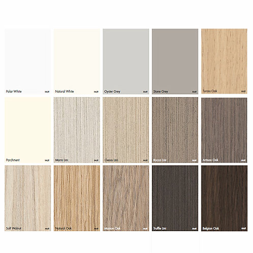 Polytec Commercial Colour Palette