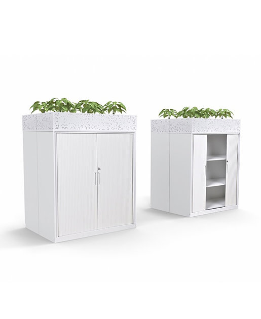 Perforated Planter Tambour