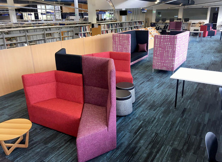 library acoustic seating